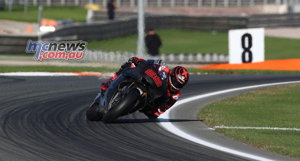 MotoGP Valencia Test Lorenzo GPT AN