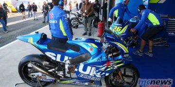 MotoGP Valencia Test Suzuki GPT AN