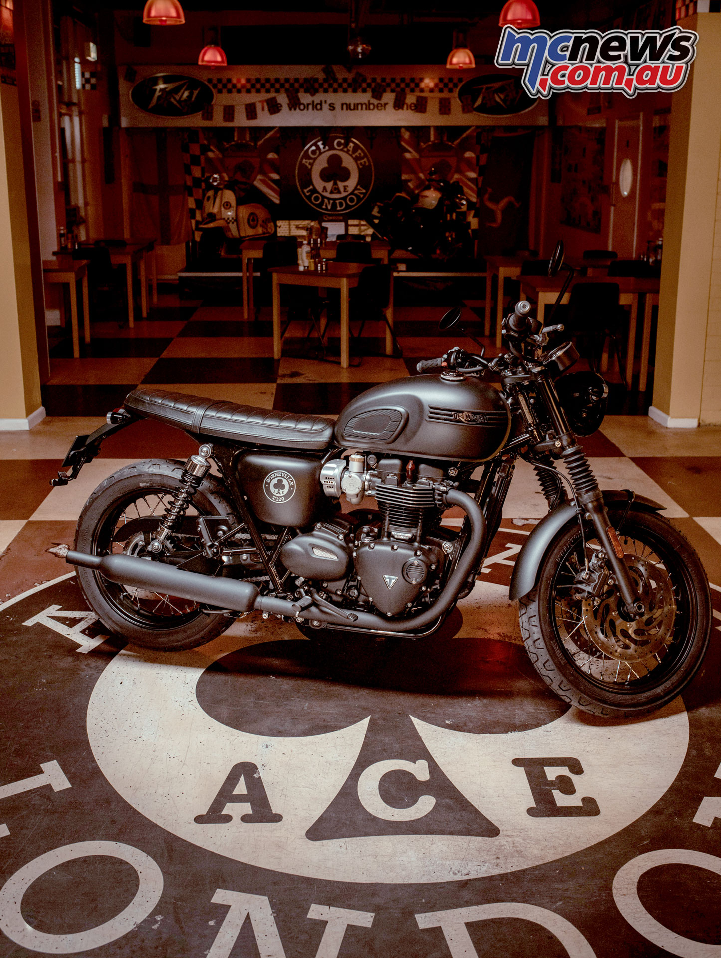 2019 Triumph Bonneville T120 Ace 18450 Orc Mcnewscomau