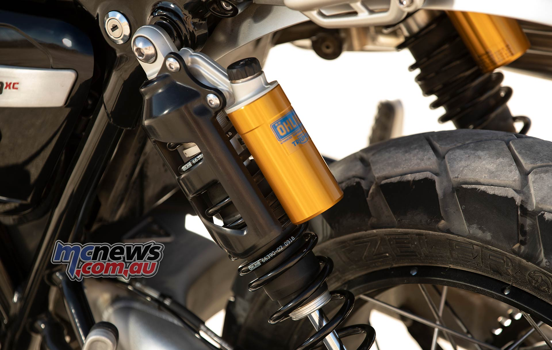 Triumph Scrambler XC Shocks