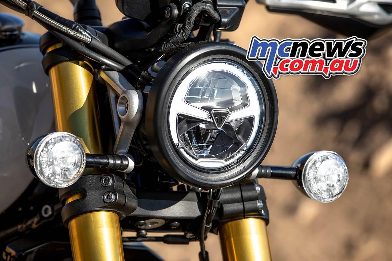 Triumph Scrambler XE Headlight