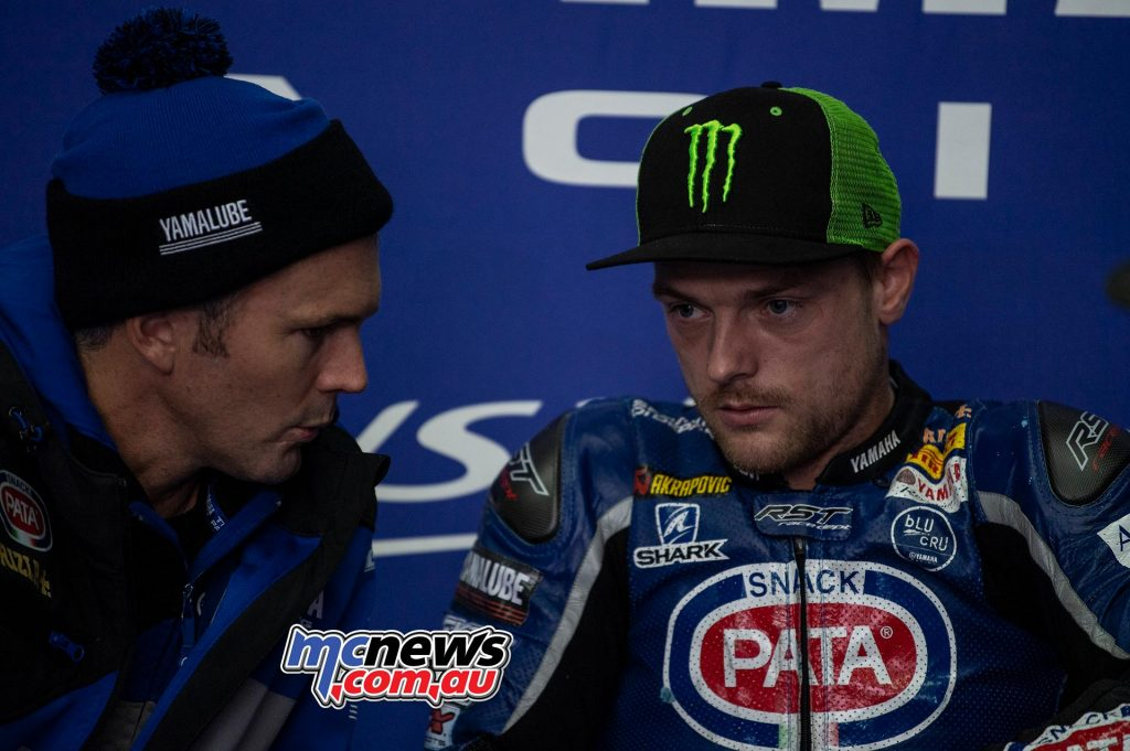 WSBK Test Aragon Andrew Pitt Alex Lowes