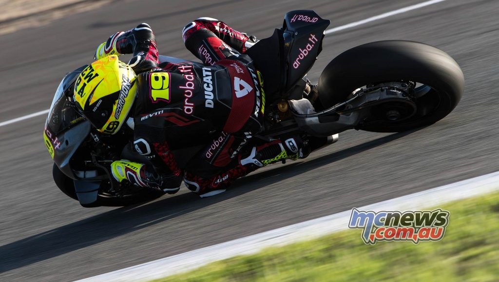 WSBK Test Jerez Nov Day Alvaro Bautista