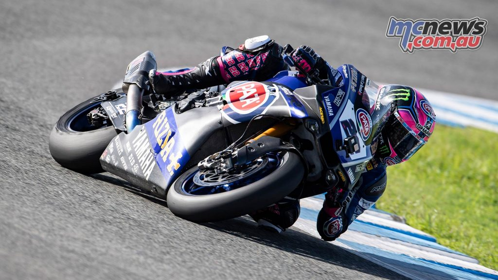 WSBK Test Jerez Nov Day GeeBee Alex Lowes