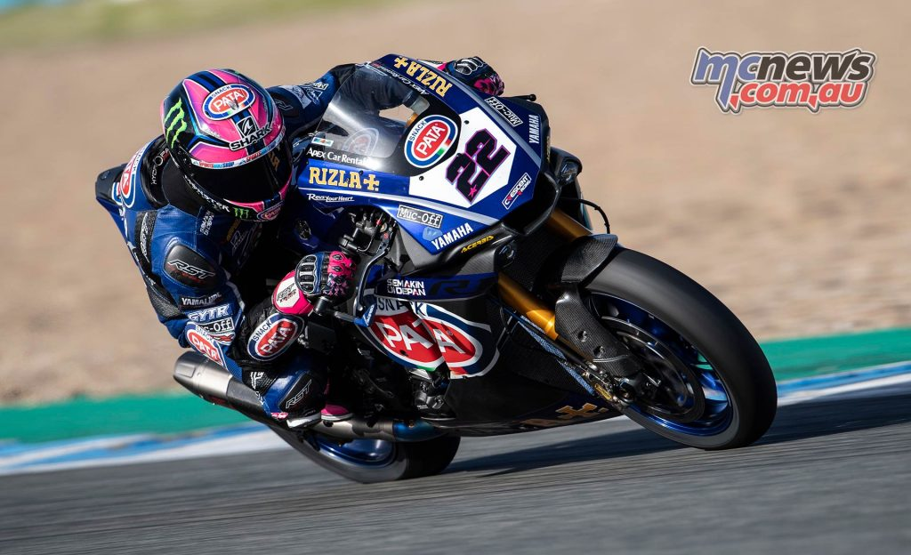 WSBK Test Jerez Nov Day GeeBee Alex Lowes