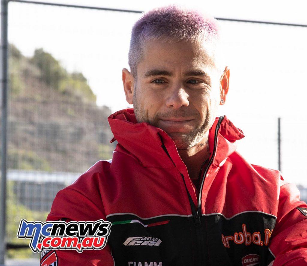WSBK Test Jerez Nov Day GeeBee Alvaro Bautista