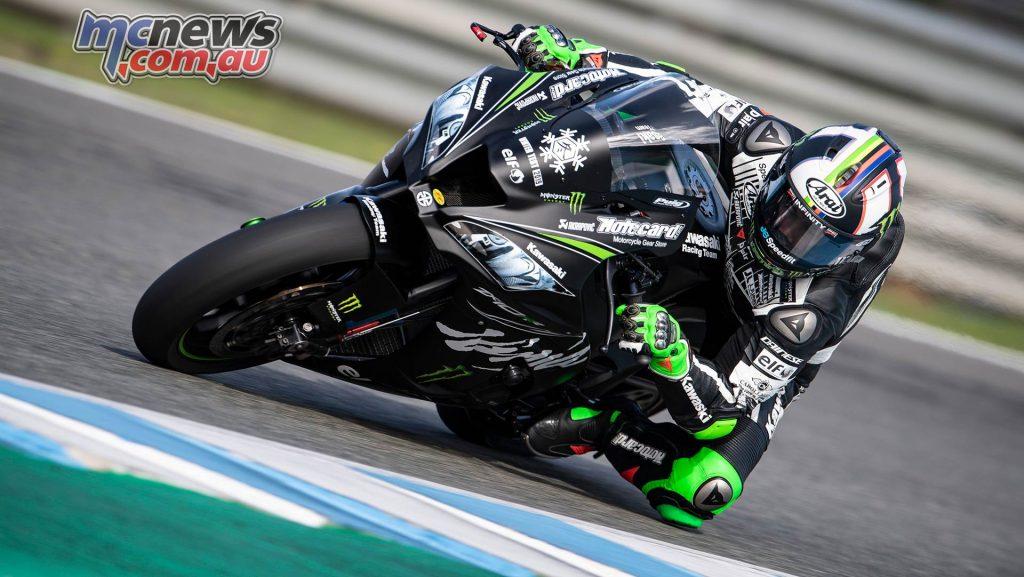 WSBK Test Jerez Nov Day GeeBee Leon Haslam