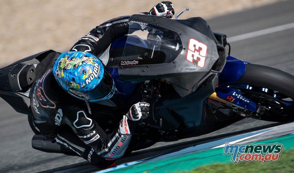 WSBK Test Jerez Nov Day GeeBee Marco Melandri