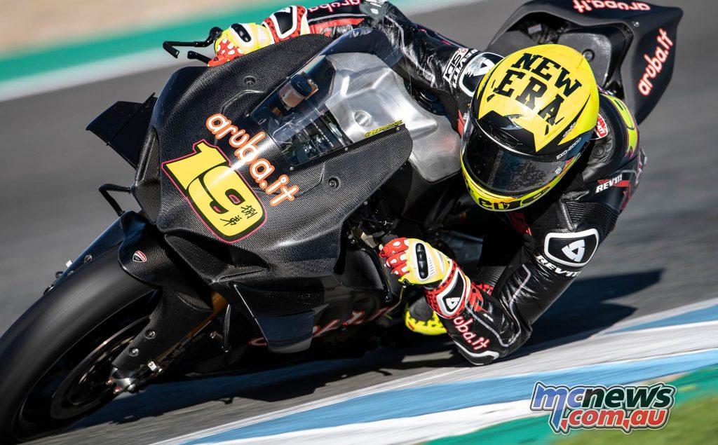 WSBK Test Jerez Nov GeeBee Alvaro Bautista Panigale VR