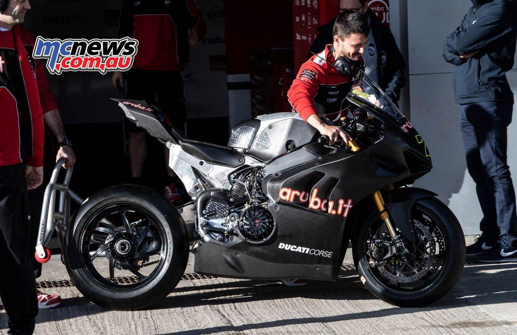 WSBK Test Jerez Nov GeeBee Chaz Davies