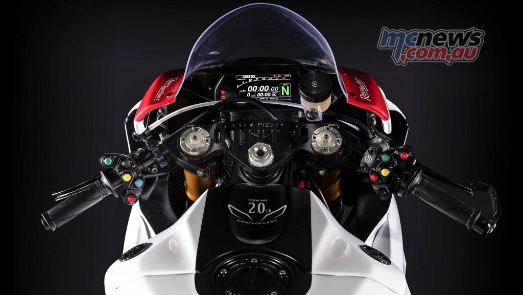 Yamaha YZF R GYTR Special Cockpit