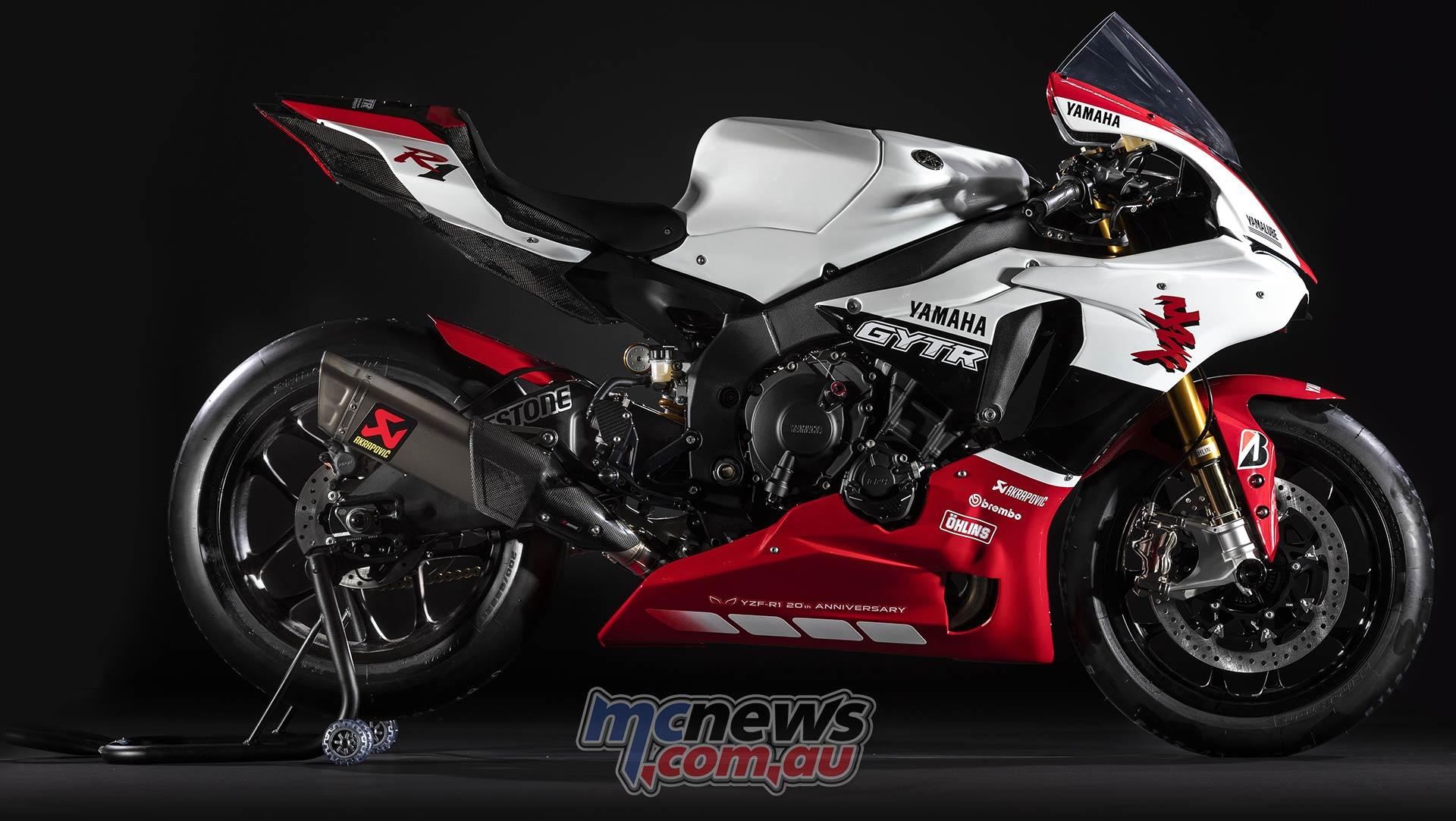 Track Ready Gytr 20th Anniversary Yamaha Yzf R1 20 Only Mcnews