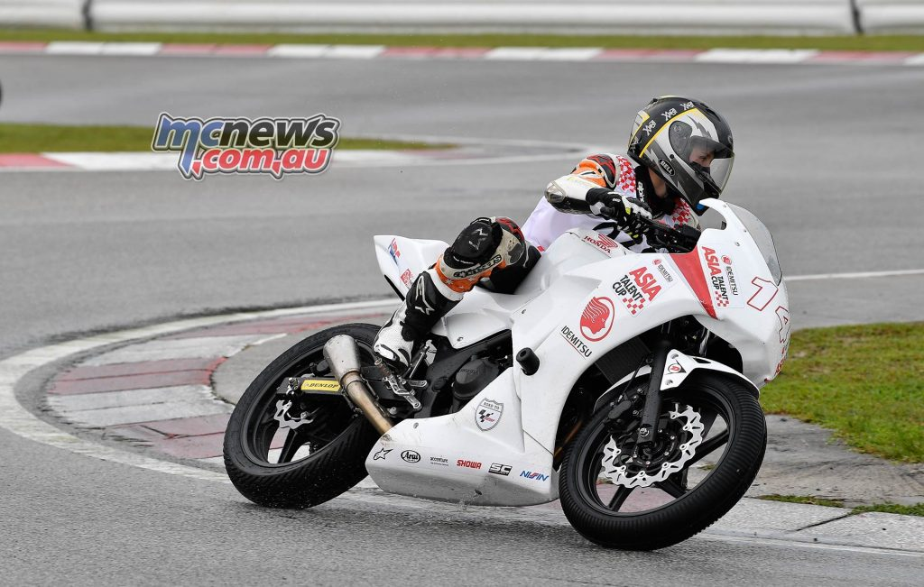 Asia Talent Cup Selections Harrison Voight