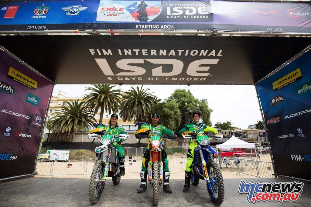 Australian ISDE Team Juniors