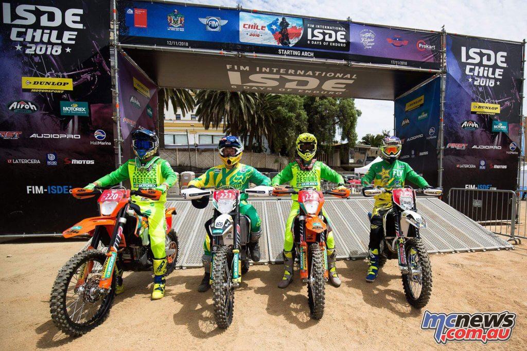 Australian ISDE Team Mens