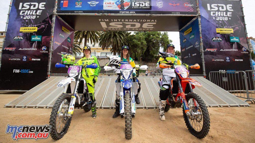 Australian ISDE Team Womens