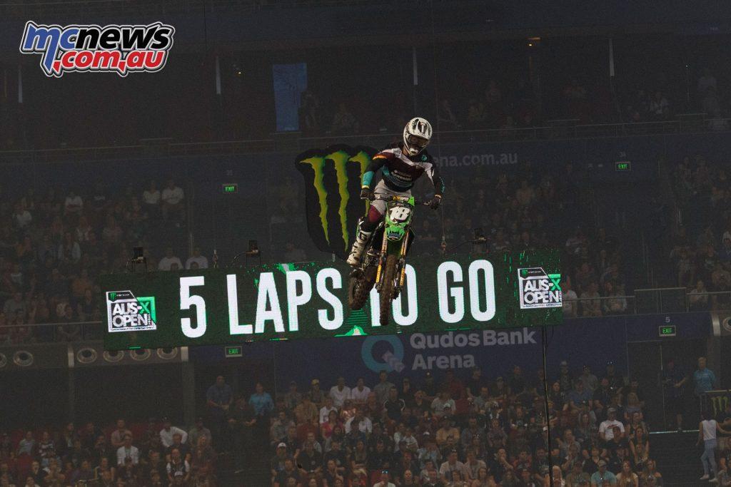 Australian Supercross Aaron Tanti