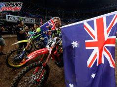 Australian Supercross Penrite Honda Brett Metcalfe AI