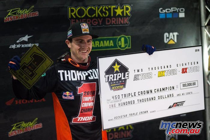 Cole Thompson Canadian Triple Crown