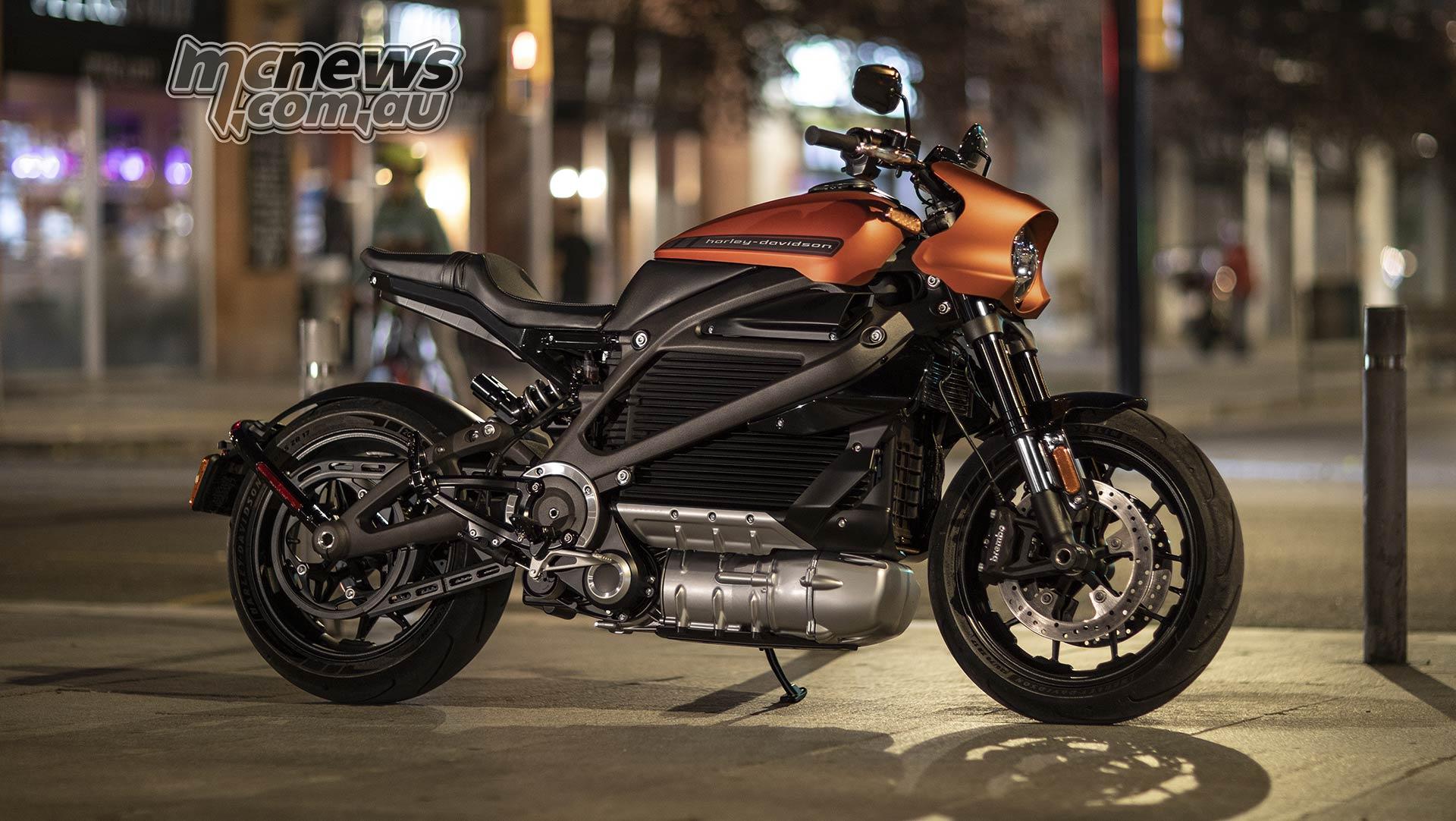Harley-Davidson LiveWire Set For 2020 Australian Release