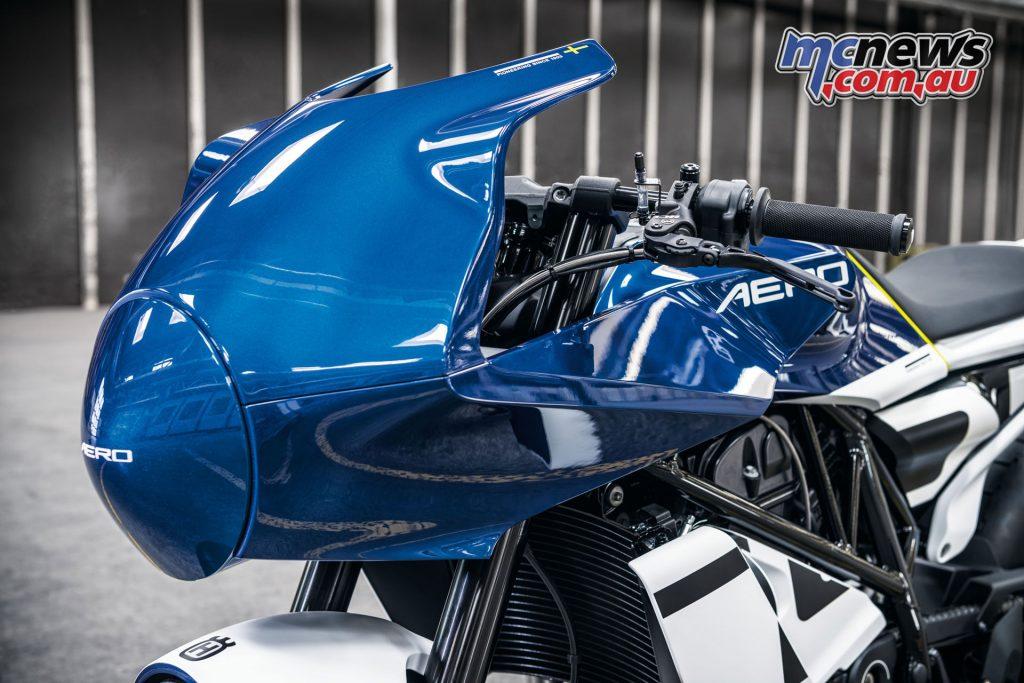 Husqvarna Vitpilen Aero Concept motorcycle