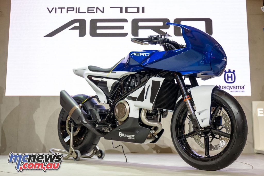 Husqvarna Vitpilen Aero Concept motorcycle M