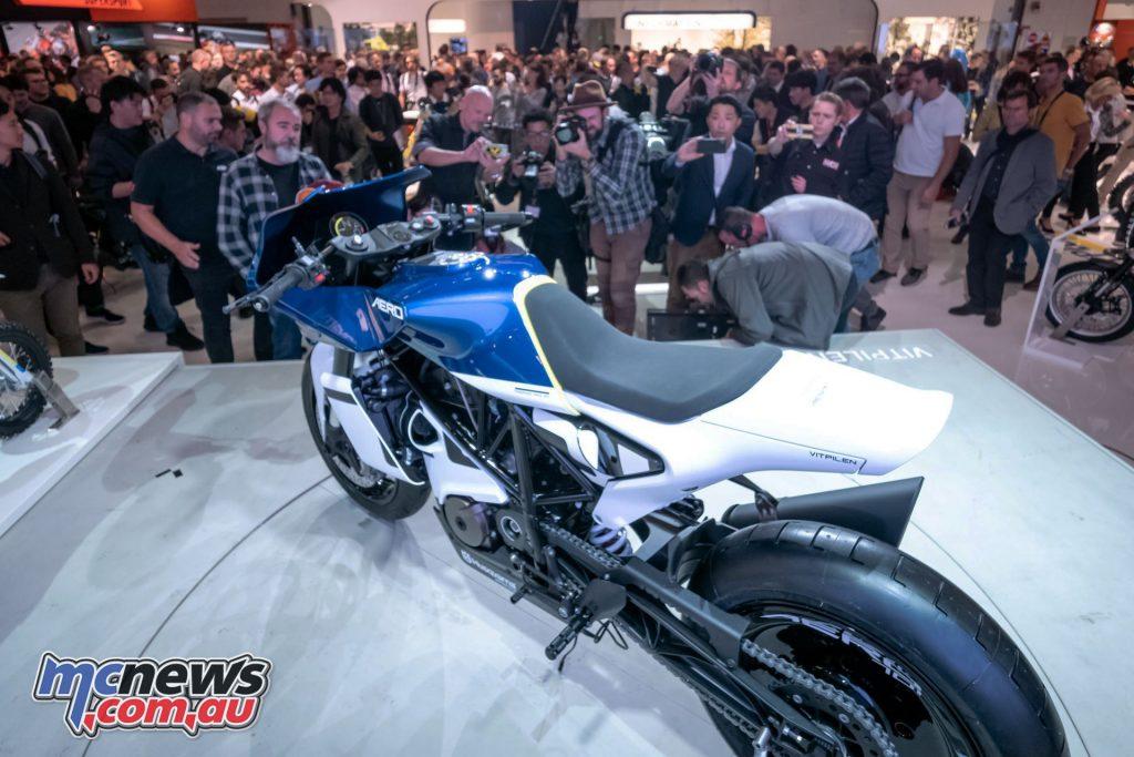 Husqvarna Vitpilen Aero Concept motorcycle MC