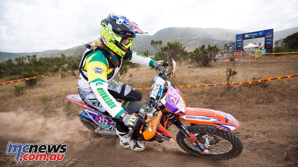 ISDE Chile Day Mackenzie Tricker JPM