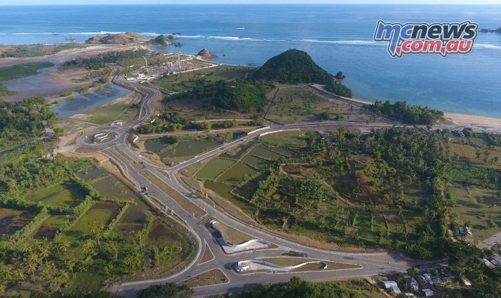 Indonesia Racetrack Complex Area