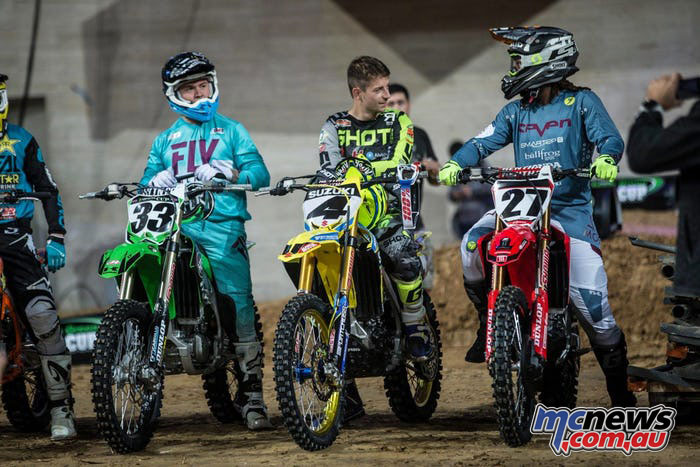 Josh Grant won the Barcelona SX