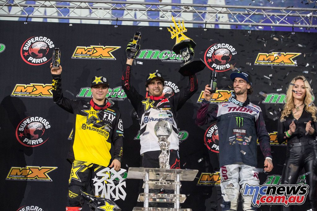 King of Paris Jason Anderson Zach Osborne