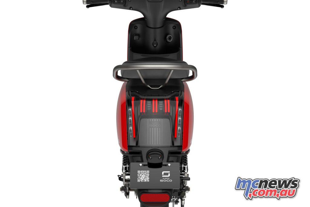 Super SOCO CU X Scooter