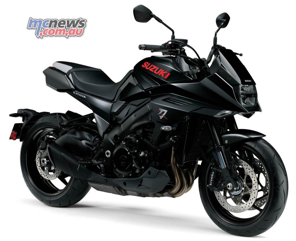 Suzuki Katana Black RHF