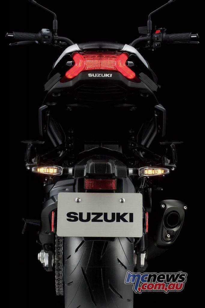 Suzuki Katana Rear