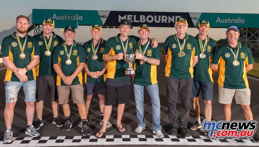 Team Australia Island Classic