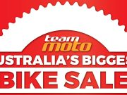 TeamMoto Sale Sign