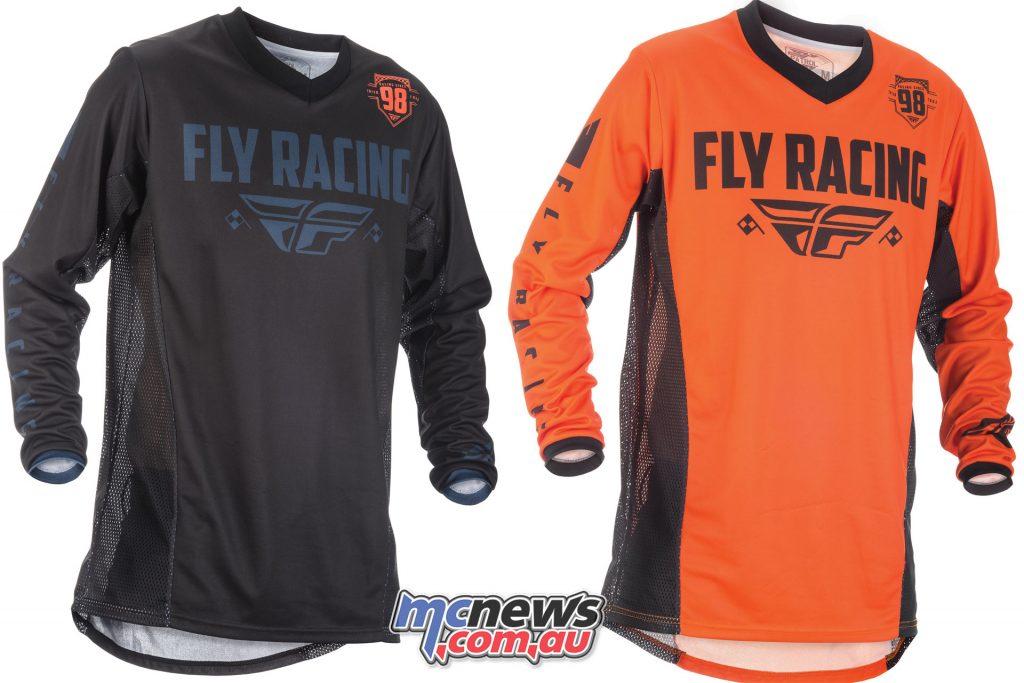 fly patrol jersey black grey