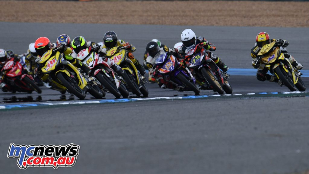 ARRC Rnd Underbone Race Wawan leads Helmi outside
