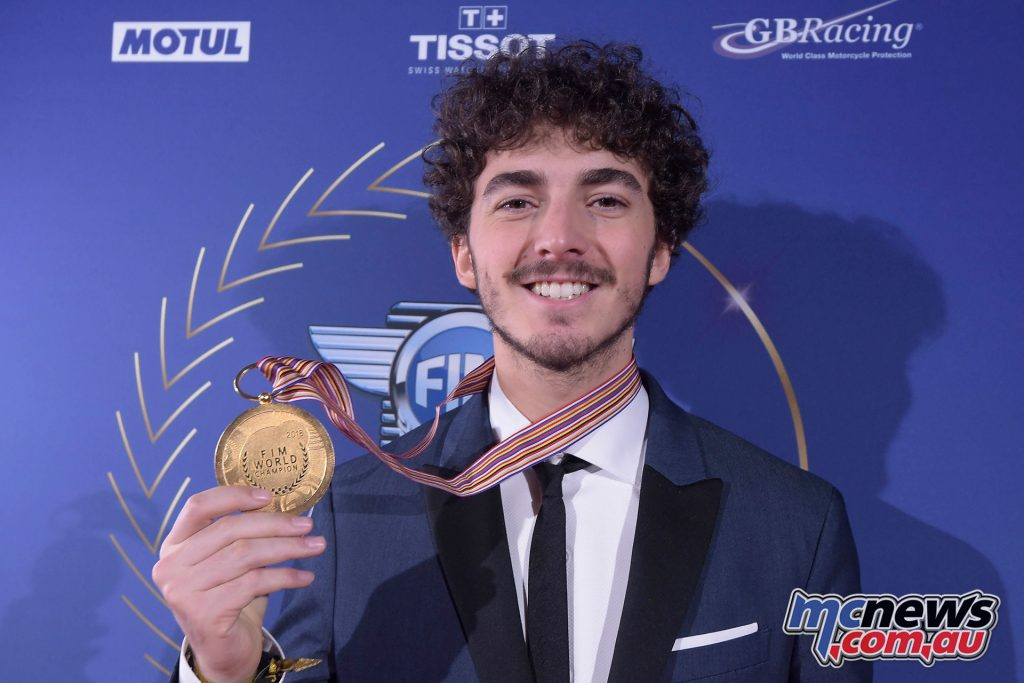 FIM Awards Francesco Bagnaia