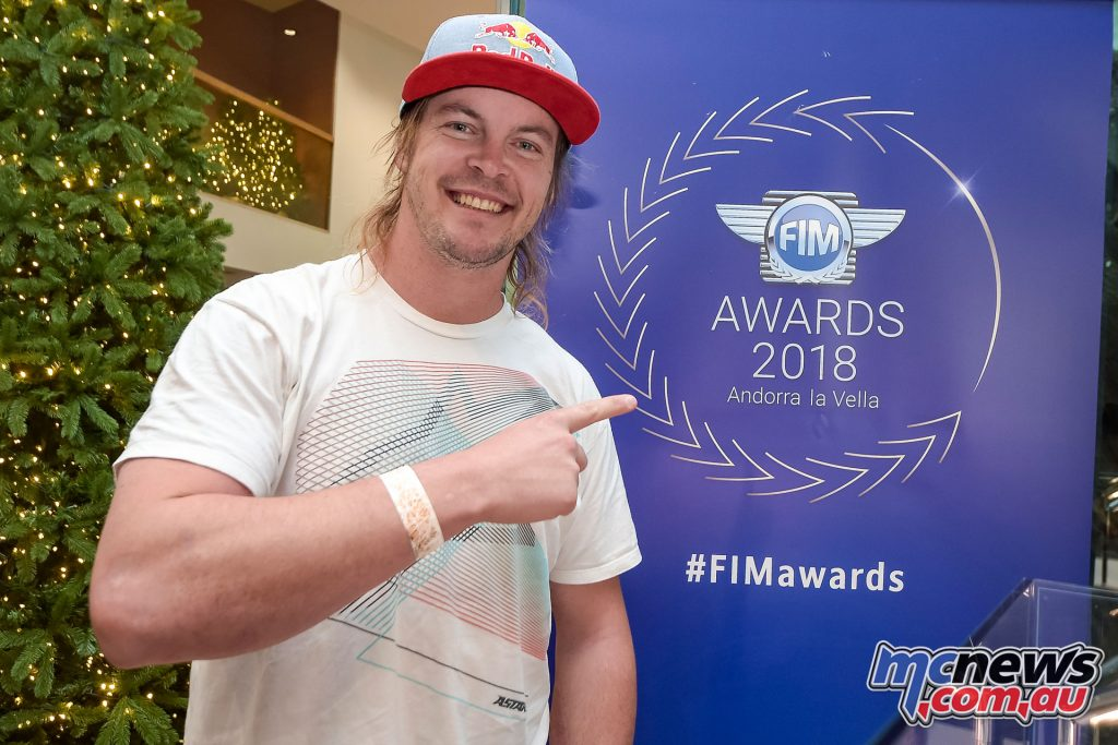 FIM Awards Toby Price