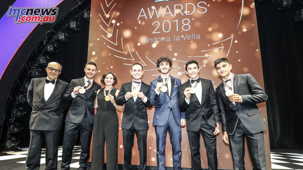 FIM Awards WorldSBK MotoGP Winners