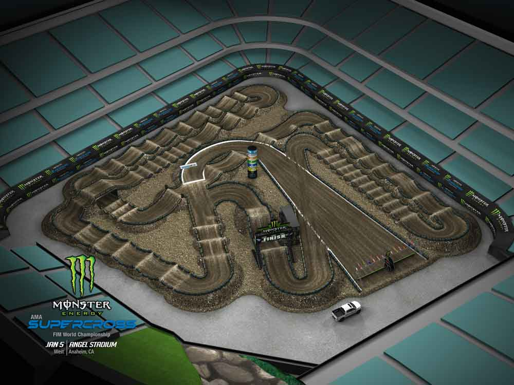 AMA SX A TrackMap