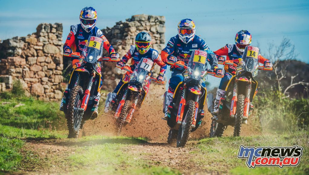 Rally Team Red Bull KTM Factory Racing Toby Price F