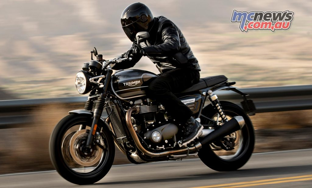 Triumph Speed Twin Action