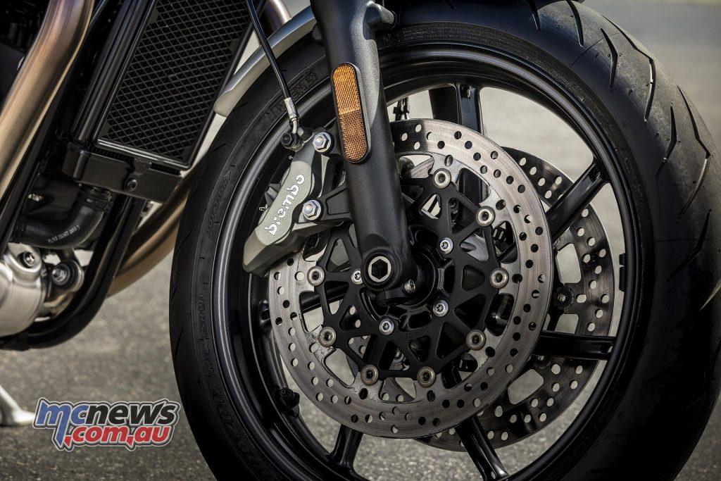 Triumph Speed Twin Brakes