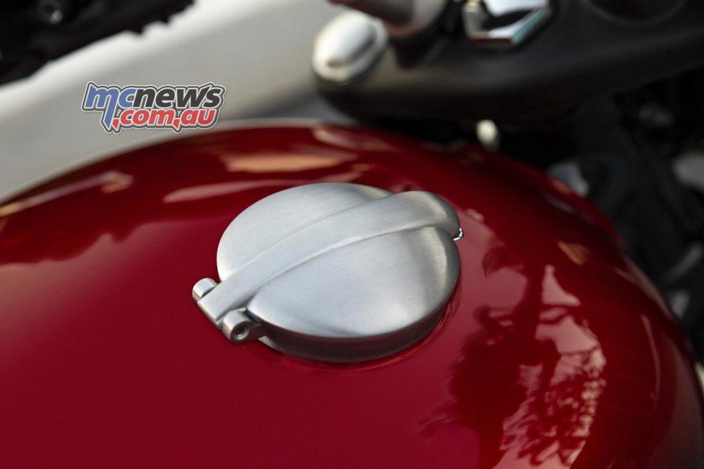 Triumph Speed Twin Monza Fuel Cap