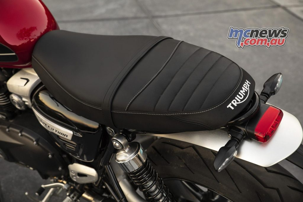 Triumph Speed Twin Seat