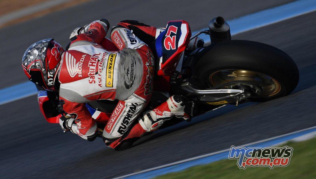 ARRC Test Day Superbike Andi Farid Izdihar