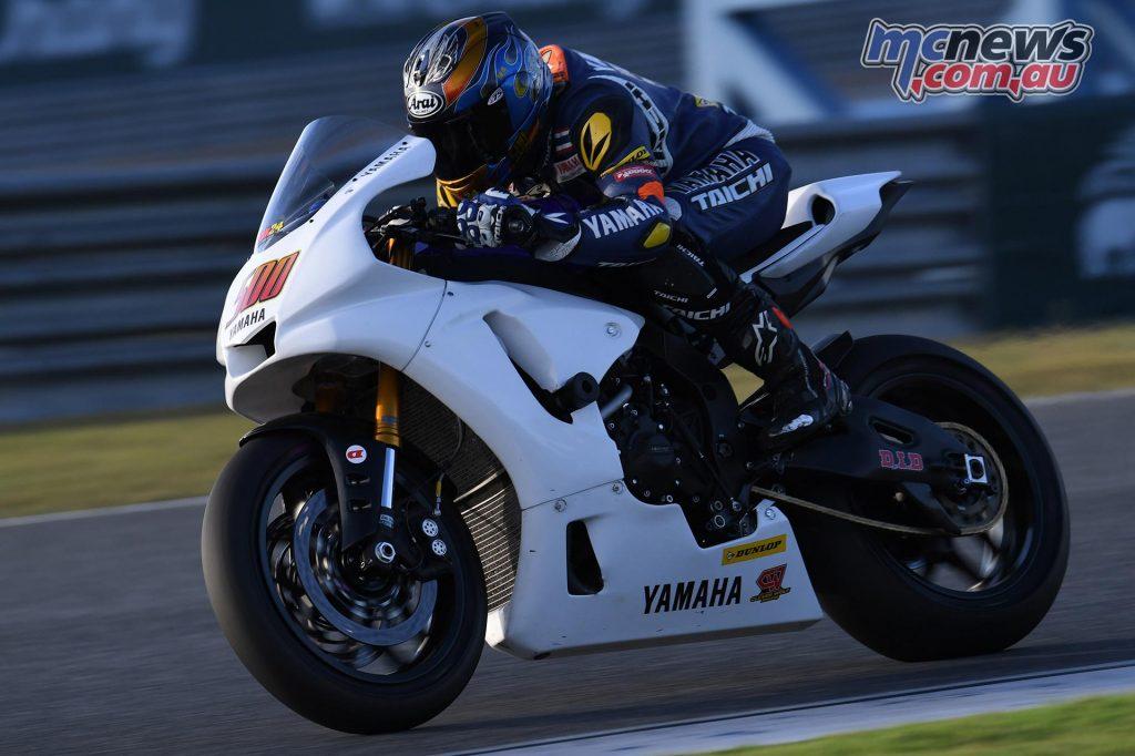 ARRC Test Day Superbike Anupab Sarmoon