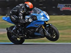 ARRC Test Day Superbike Glenn Allerton